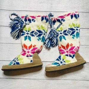 The Original Muk Luks Slipper Boot, Multicolor